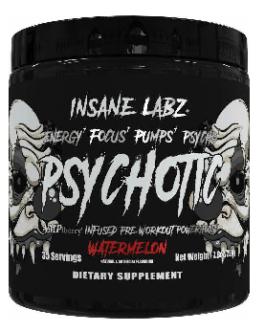 Insane Labz Psychotic Black Simple 220 Gr Watermelon