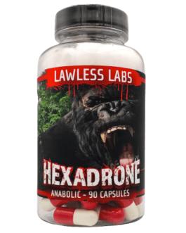 Lawless Labs Hexadrone 50mg 90 caps