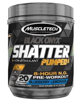 Muscletech Black SHATTER Pumped 166 Gr JuJume Berry