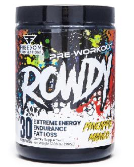 Formulations Rowdy 360 Gr Strawberry Kiwi
