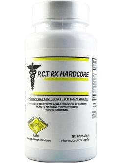GeneTech Pharma Labs P.C.T RX Hardcore 90 Caps