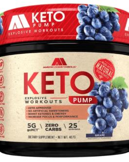 American Metabolix Keto Pump 407 Gr
