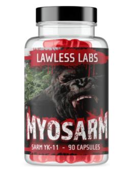 Lawless Labs Myosarm YK-11 90 Caps