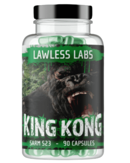 Lawless King Kong  S-23 Overdose 90 Caps USA